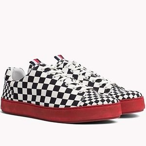 Tommy Hilfiger Collection He Check Cupsole Sneaker